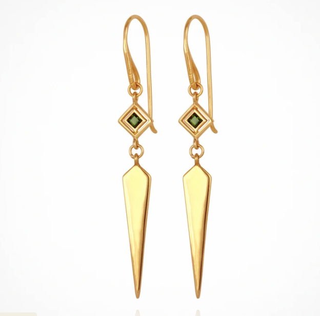 Temple Of The Sun Rhya Earring - Gold