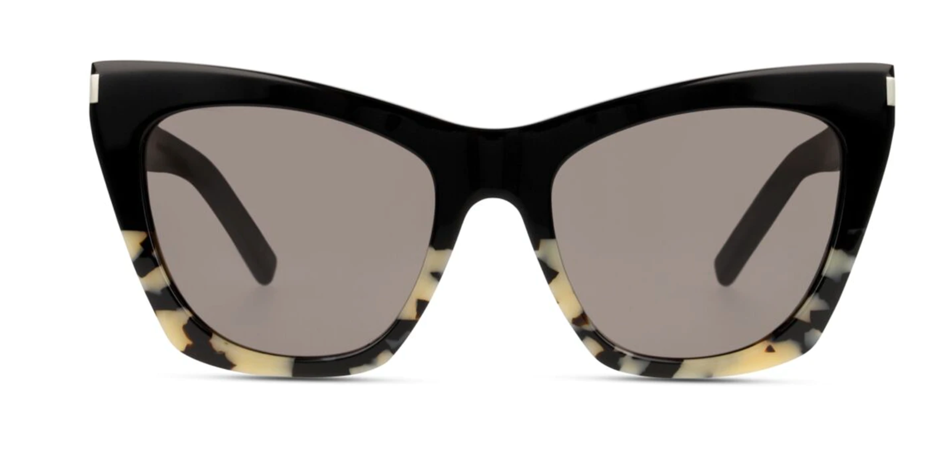 Yves Saint Laurent Kate Havana Sunglasses - Black & Cream