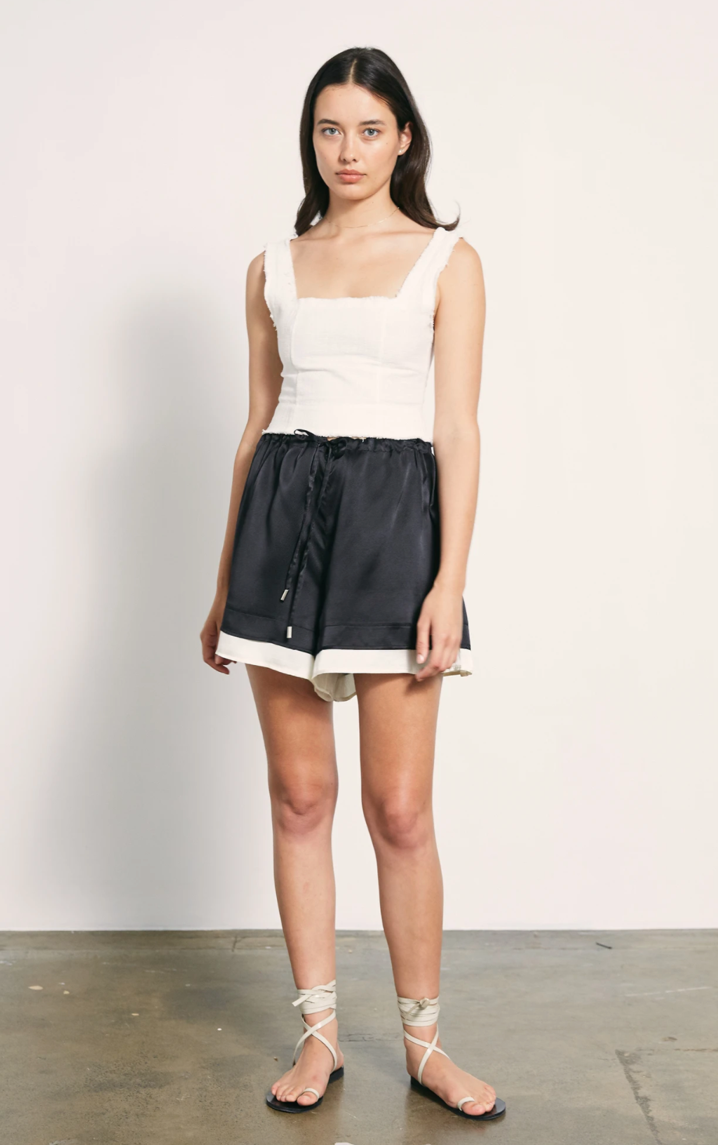 Marle The Lucie Shorts - Black Ivory