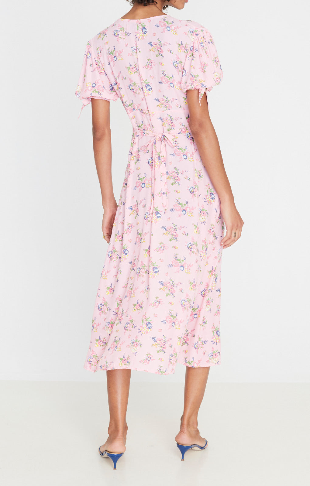 Faithfull The Brand Daija Midi Dress - Juliette Floral Print
