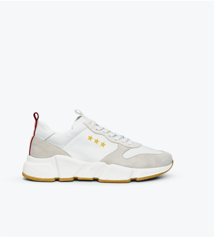 Department of Finery Zara Sneaker - White Multi