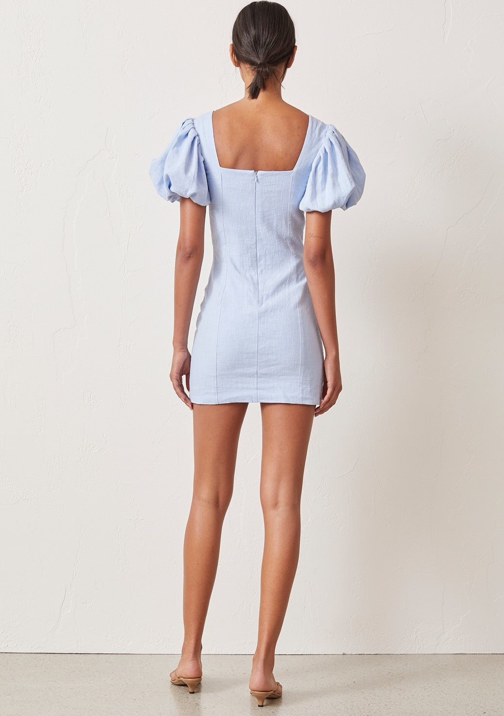 Bec & Bridge Anika Mini Dress - Sky Blue