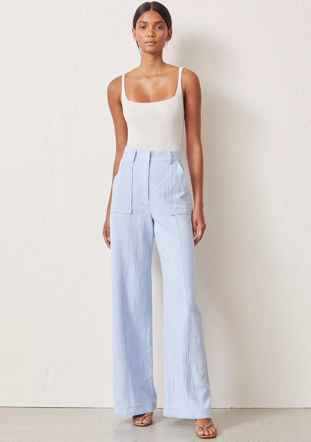 Bec & Bridge Anika Pant - Sky Blue