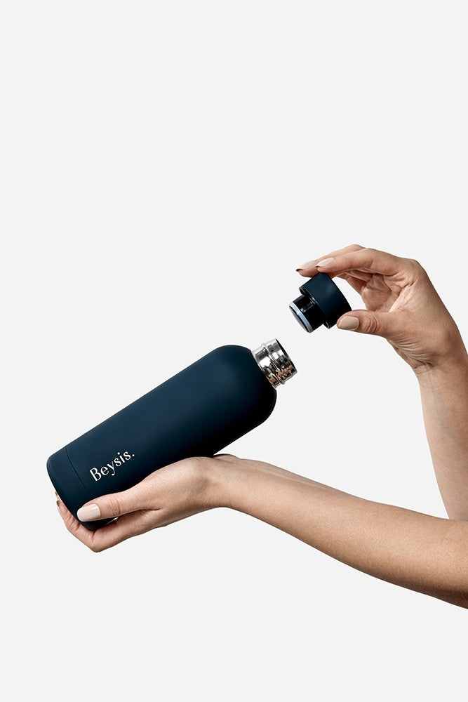Beysis Water Bottle - Navy