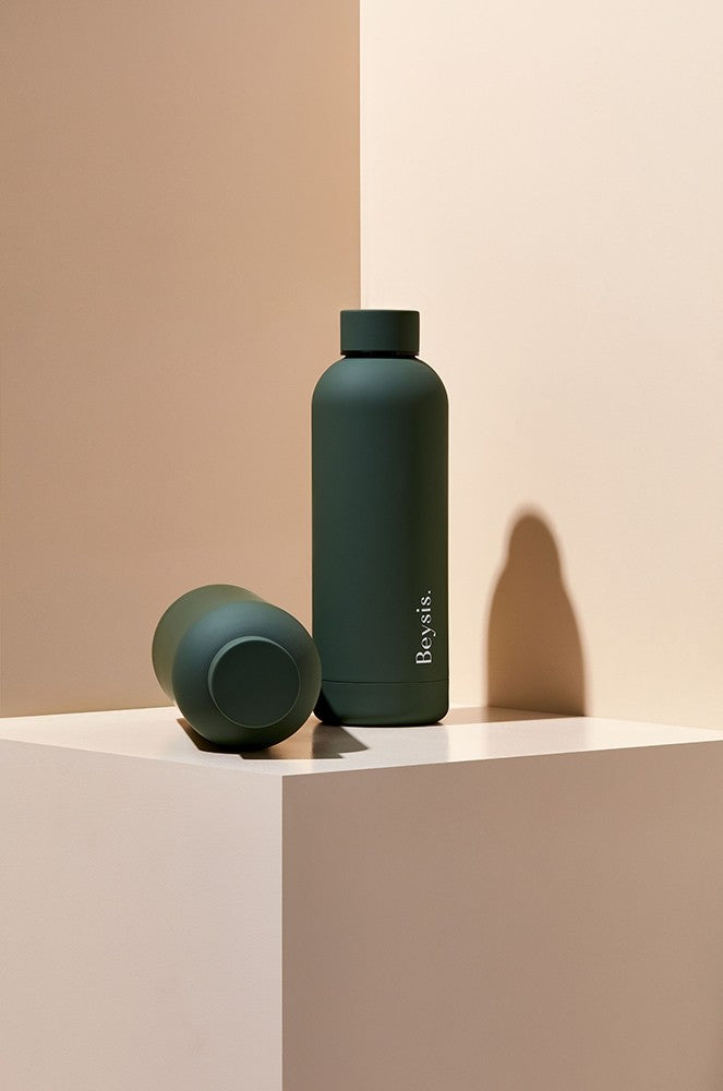 Beysis Water Bottle - Olive Green