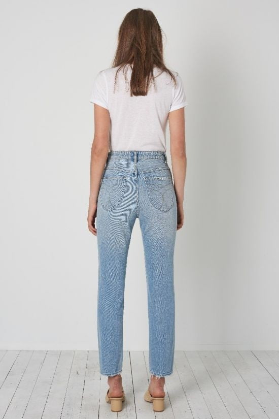 Rollas Dusters Jeans- Old Stone