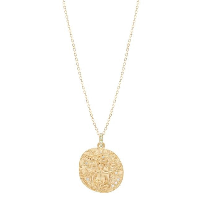 By Charlotte Goddess Of Earth Necklace - Gold