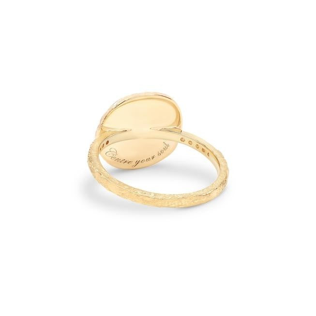 By Charlotte Goddess Of Earth Ring - Gold
