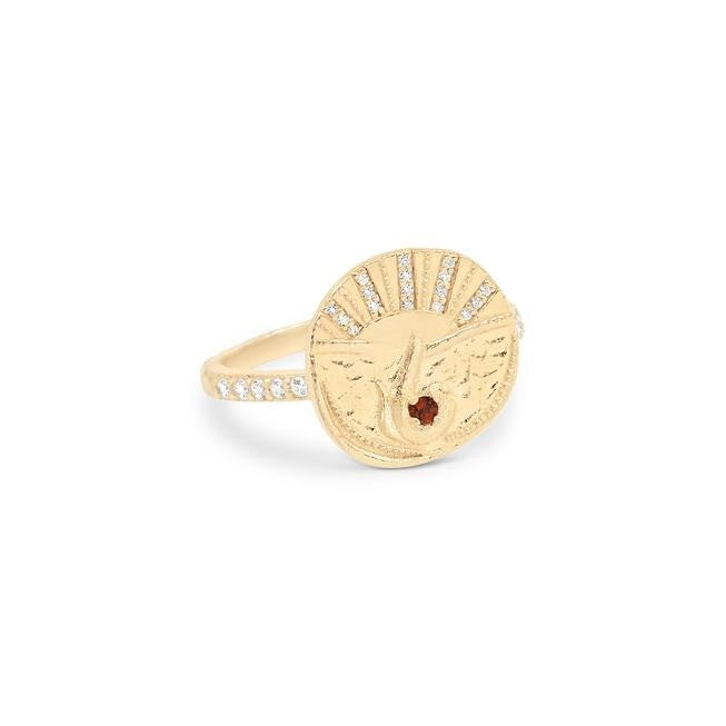 By Charlotte Goddess Of Fire Ring - Gold