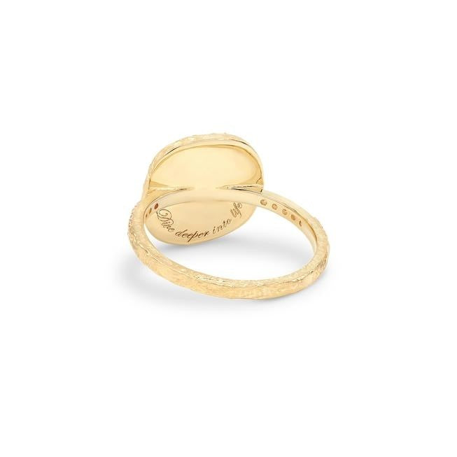 By Charlotte Goddess Of Water Ring - Gold