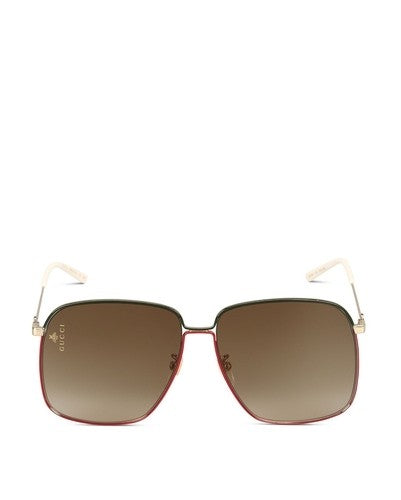 Gucci GG0394S003 - Gold Metal