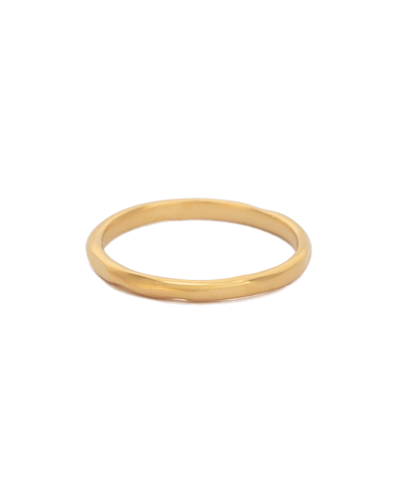 Kirstin Ash Renewal Stacking Ring - 18k Gold Plated