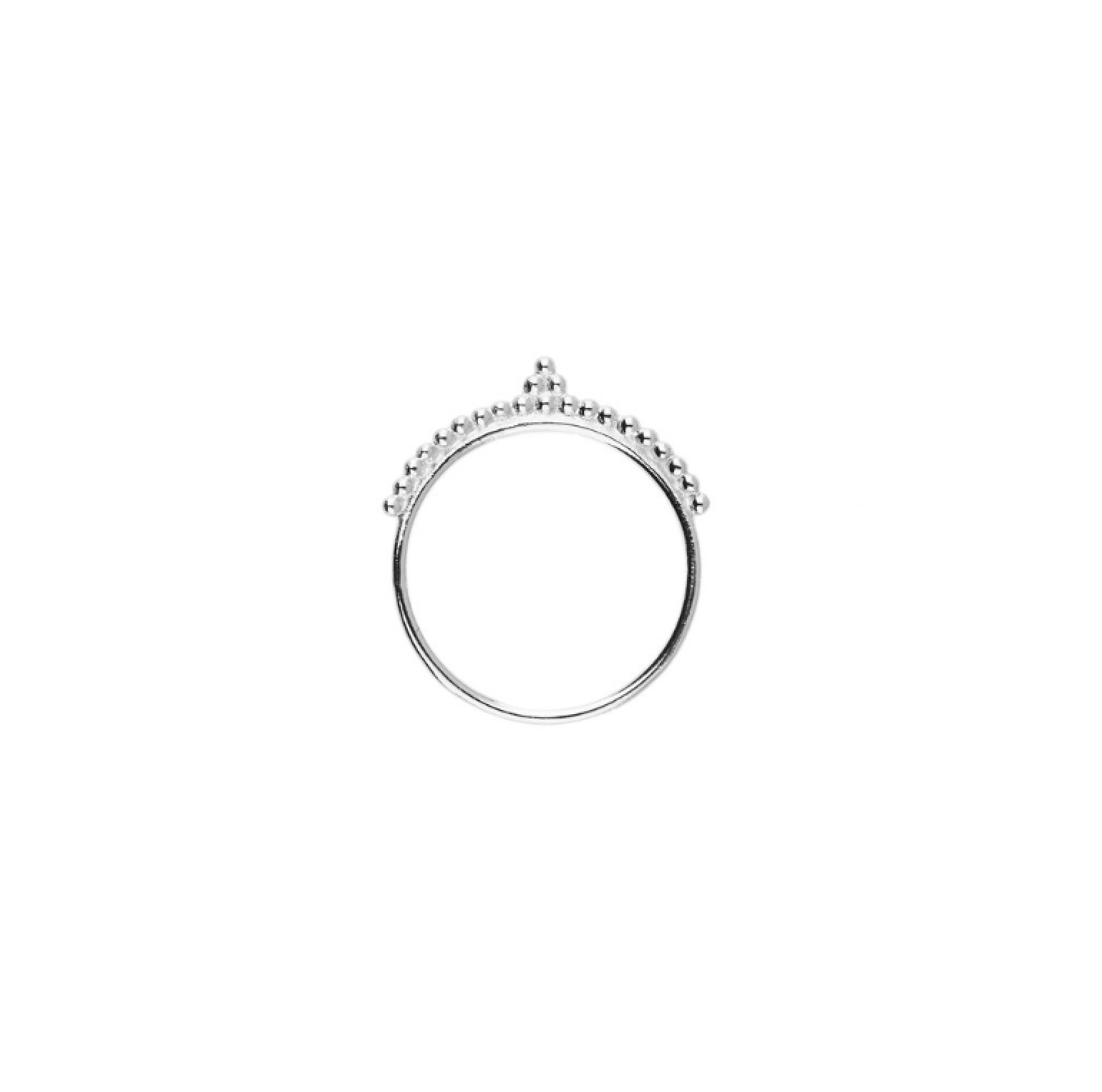 By Charlotte Dhan'ya Ring - Silver