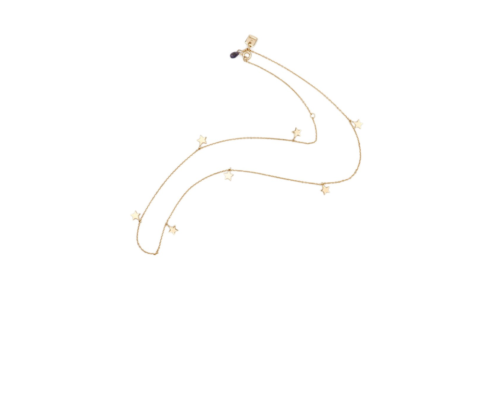 By Charlotte Gold Star Bright Necklace