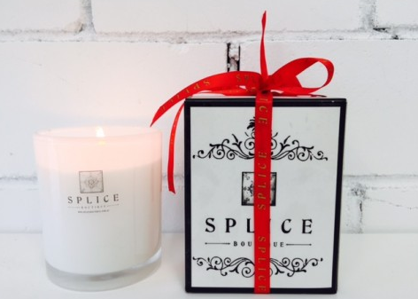 Splice X Splice Boutique Candle - Organic Coconut And Lime