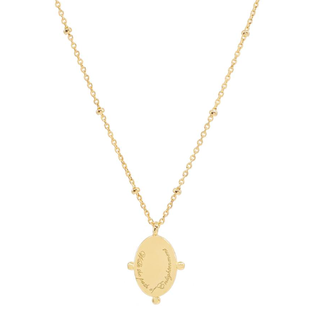 By Charlotte Gold Path Of Life Necklace - Gold