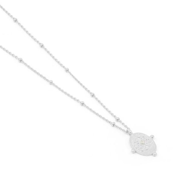 By Charlotte Silver Path Of Life Necklace - Silver