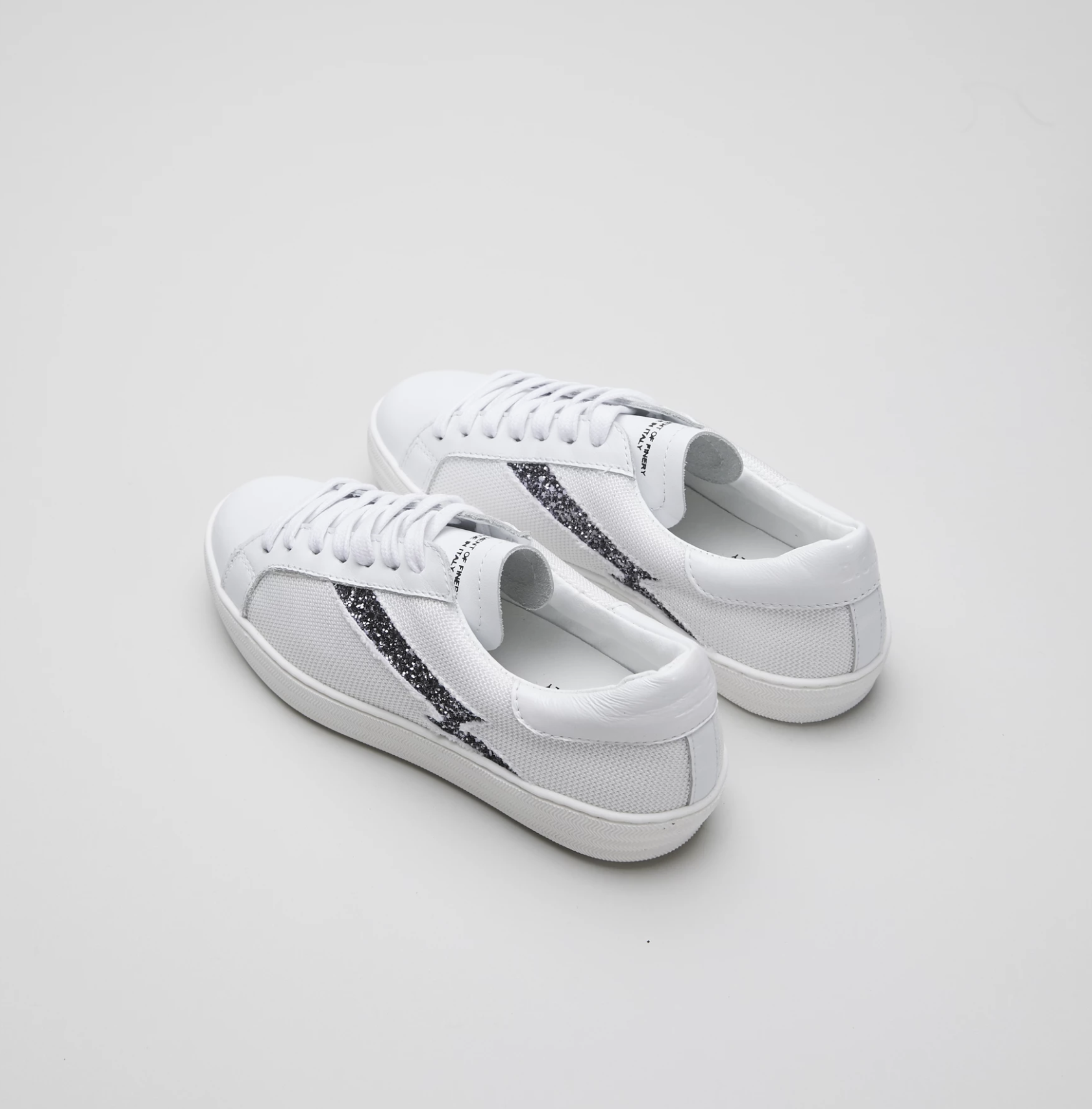 Department of Finery Alice Sneaker - White Mesh