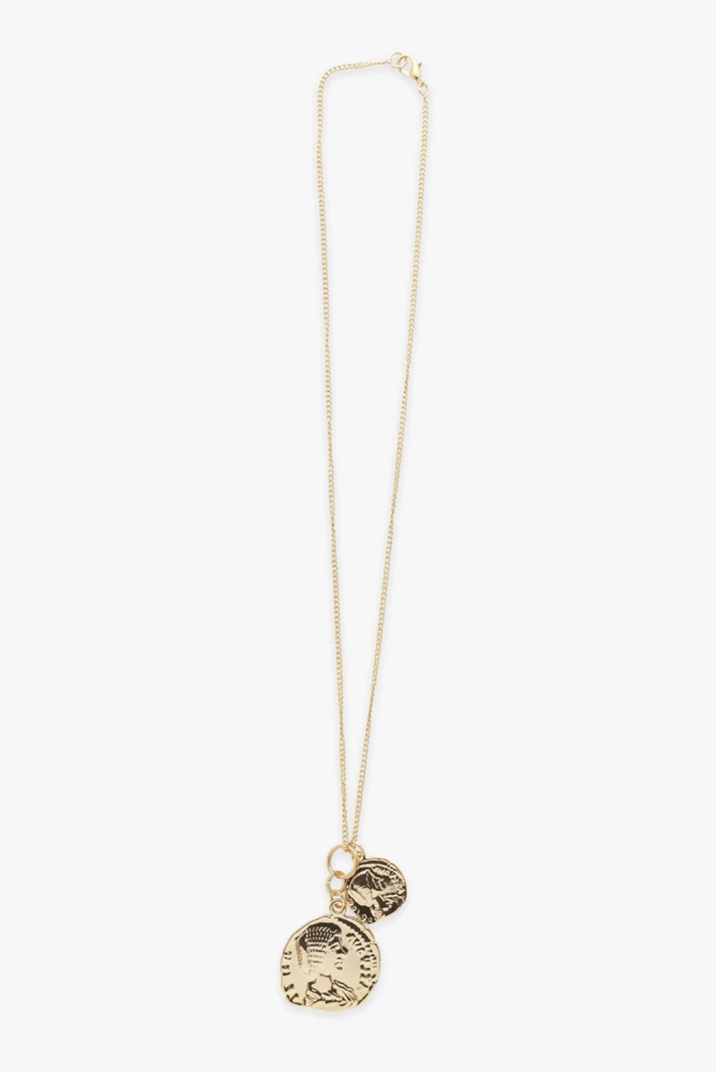 Reliquia Double Coin Necklace - Gold
