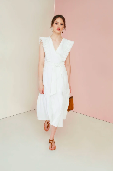 Magali Pascal Maiko Dress - Off White