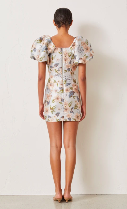 Bec & Bridge Fleurette V Dress - Print