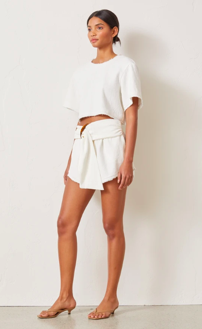 Bec & Bridge Ollie Short - Ivory