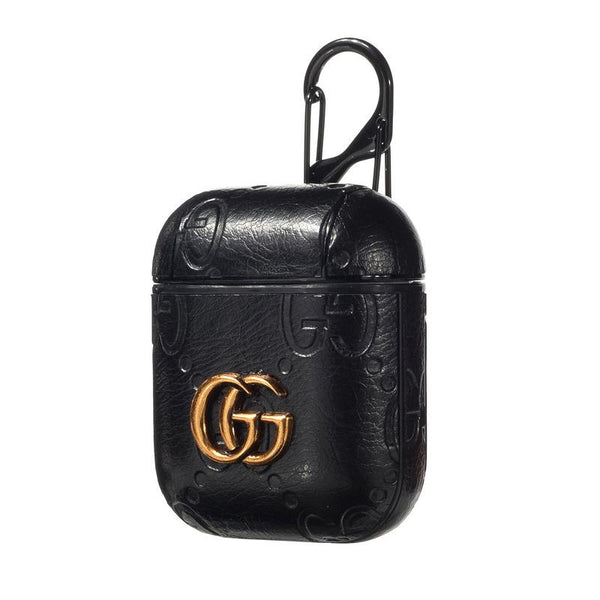 Gucci Black Airpod Case Designer Pod Cases
