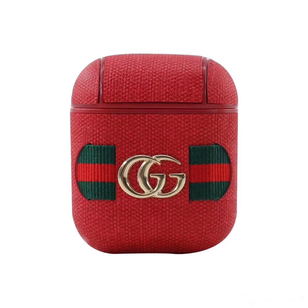 Gucci Red Airpod Case Designer Pod Cases