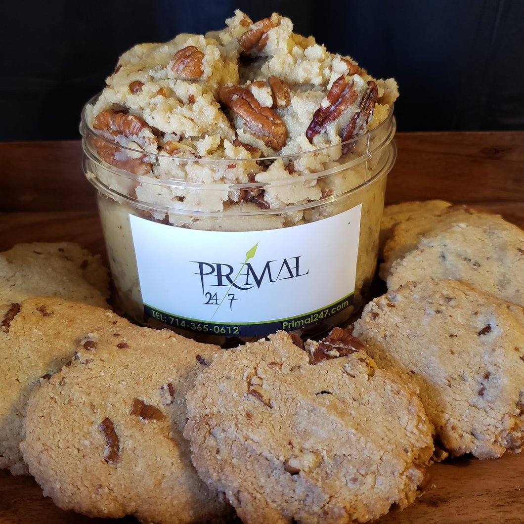 Shortbread Pecan Cookie Dough