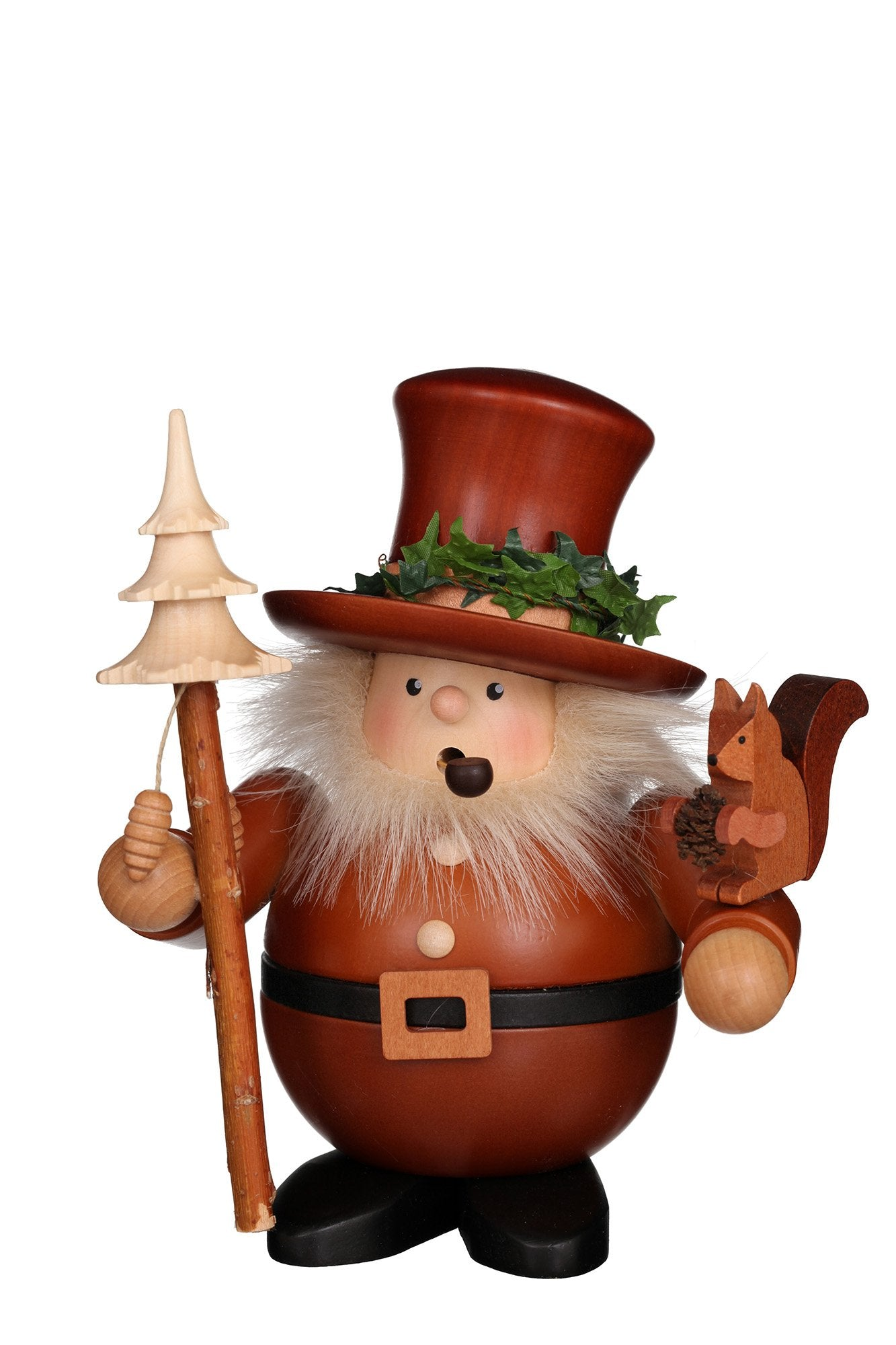 Incense Burner - Premium - Forest Gnome with Squirrel