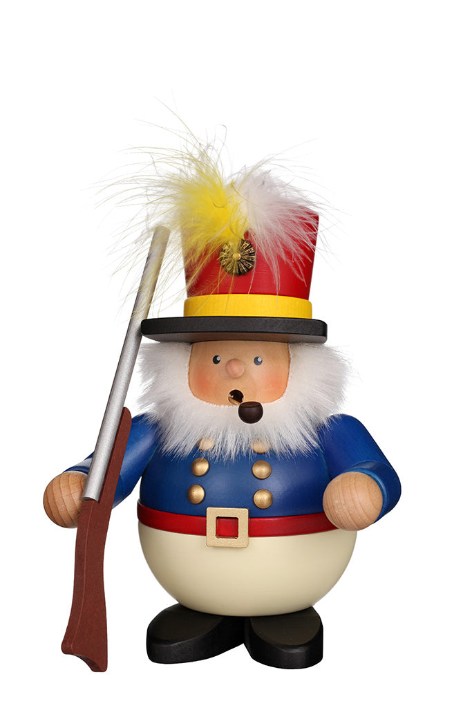 Incense Burner - Premium - Colourful Christmas Soldier