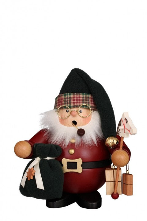 Incense Burner - Premium - Santa on Christmas Eve