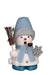 Incense Burner - Mini - Snowman in Baby Blue