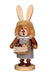 Easter Incense Burner - Collector's Edition - Lady Bunny with Basket