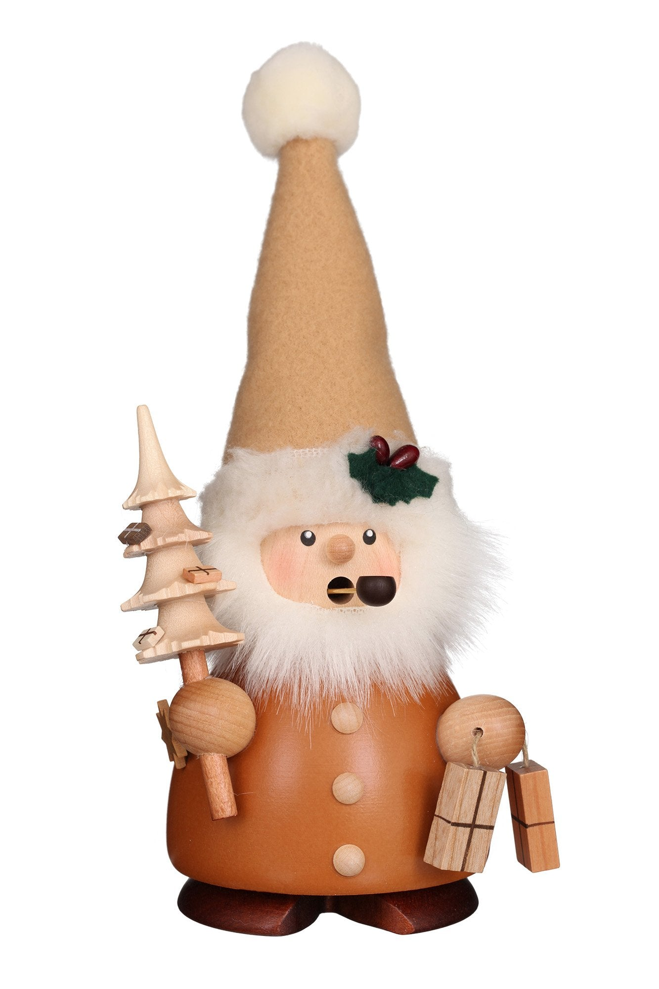Incense Burner - Small - Santa with Pointy Hat