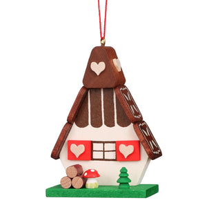 Alpine gingerbread House - christmas tree decoration