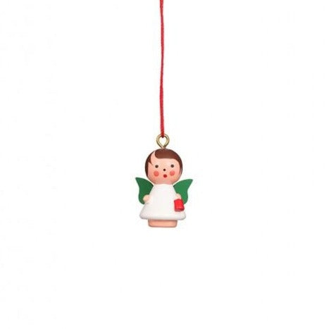 Mini angel - Colourful wings - Christmas tree decoration