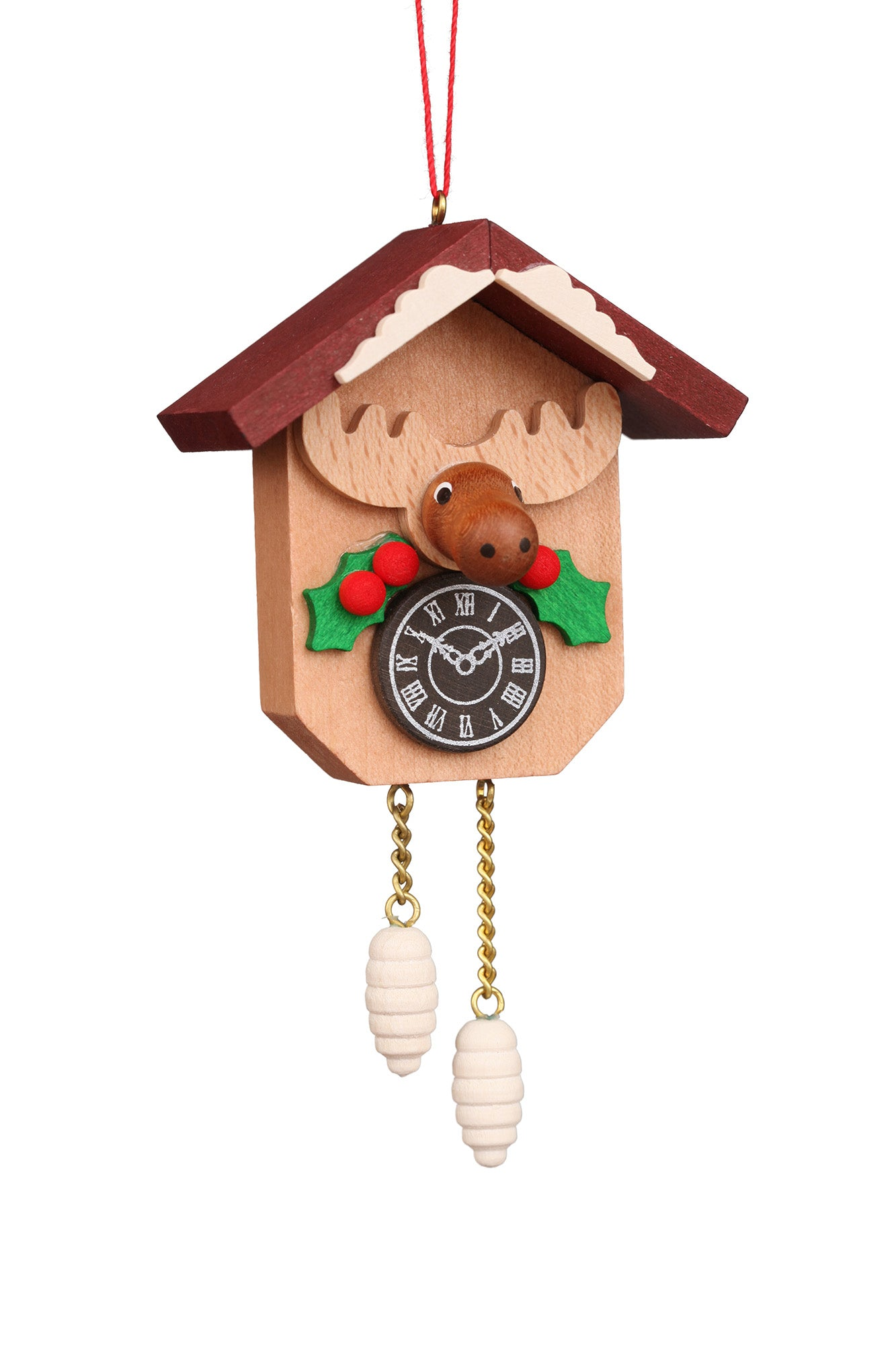 Cuckoo Clock - Christmas Moose - Christmas tree decoration
