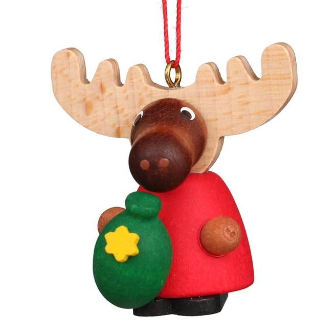 Cute Moose - Christmas tree decoration