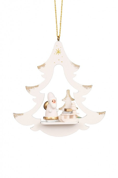 Gilt Tree - Santa - Christmas Tree Decoration