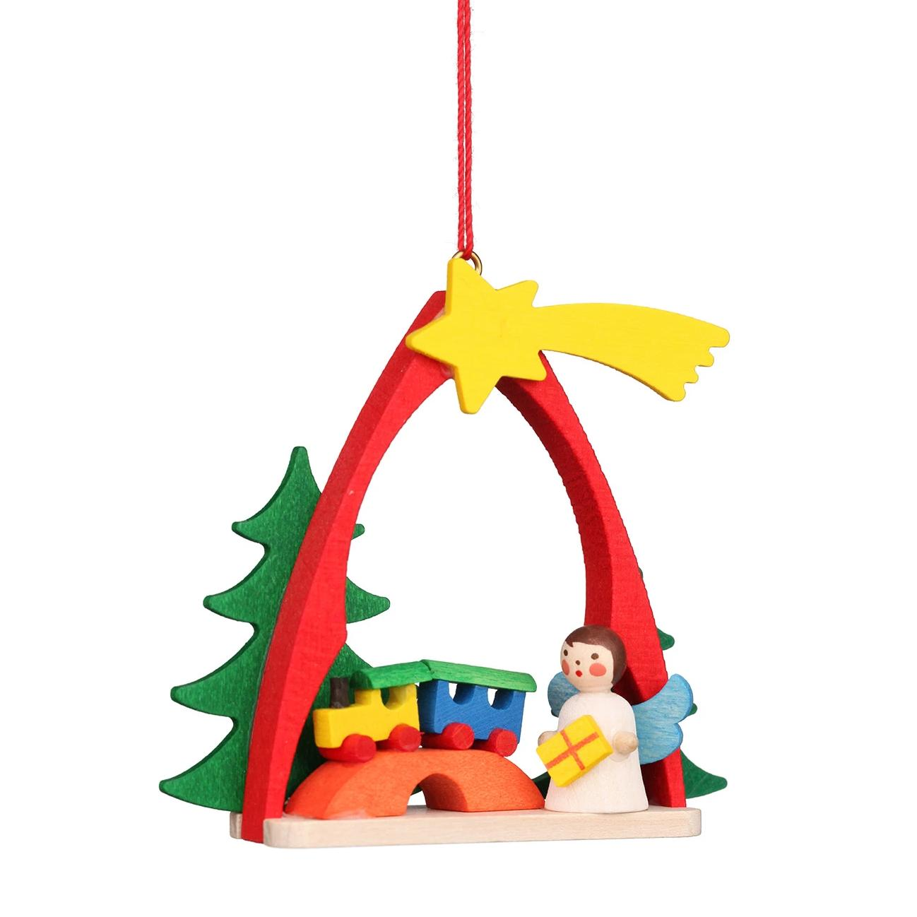 Shooting star arch - Angel - Christmas tree decoration