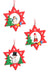 Christmas Stars - Set of 3 Christmas Tree Decorations