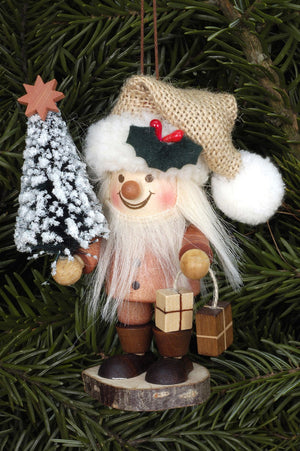 Large gnome Christmas tree decoration - Elf with presents