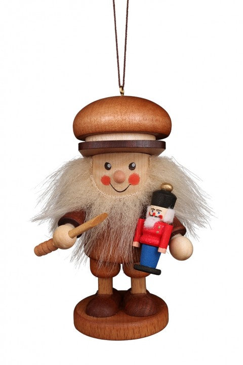 Large gnome Christmas tree decoration -  Toy Maker
