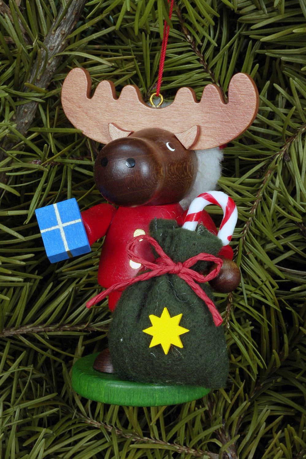 Large Gnome Christmas Tree Decoration Christmas Moose Colourful The German Christmas Shop Usa