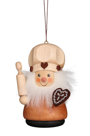 Little Gnome Christmas Tree Decoration -  Gingerbread Baker