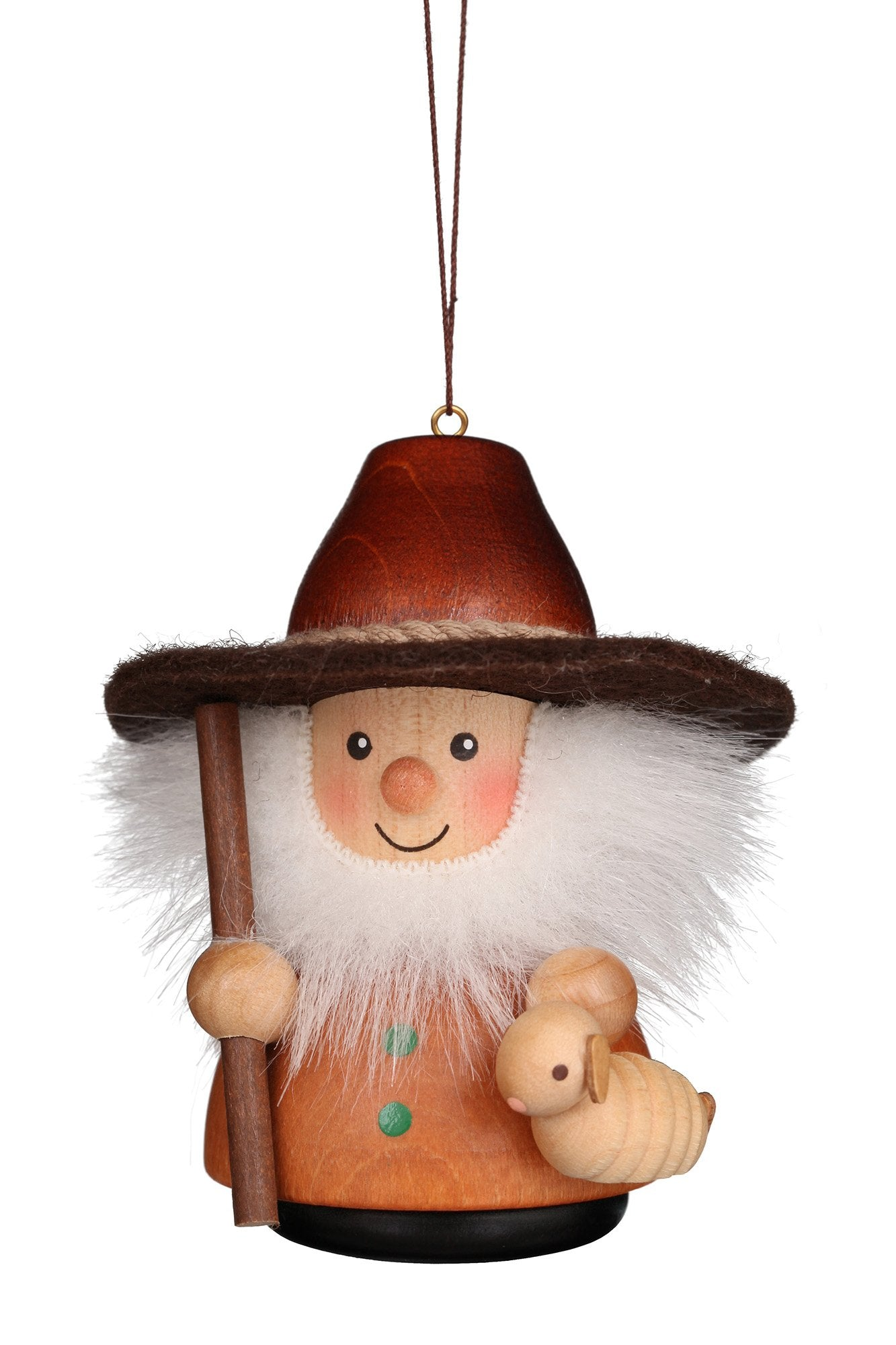 Little gnome Christmas tree decoration - Natural Shepherd