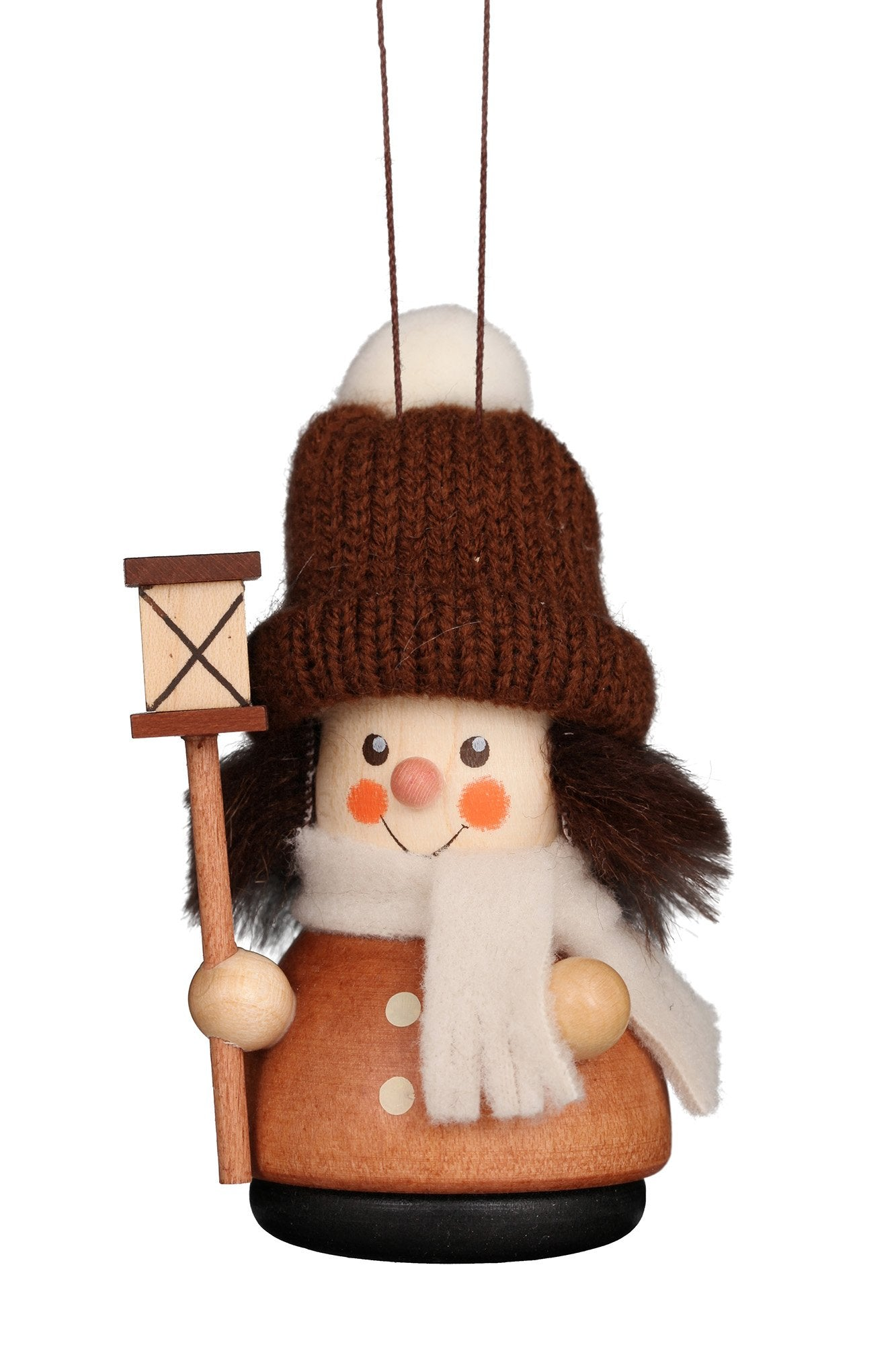Little gnome Christmas tree decoration - Carol singer