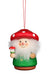 Little Gnome Christmas Tree Decoration - Red Mushroom Man