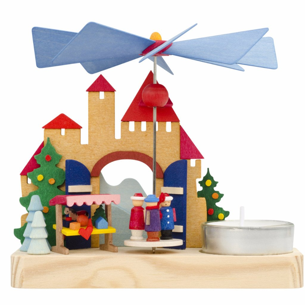 Christmas Pyramid (Small) - Fairytale Castle Market